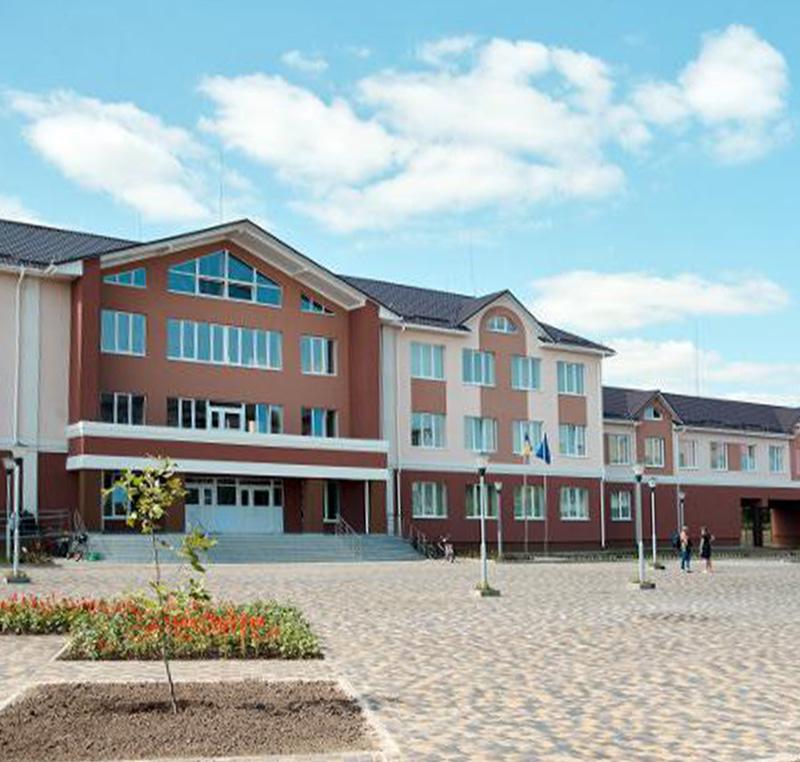 SCHOOL IN HORBAKIV VILLAGE